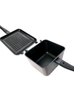 RidgeMonkey Connect Multi-Purpose Pan and Griddle Set