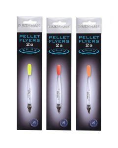 Drennan set of three Pellet Flyer Floats 2gram